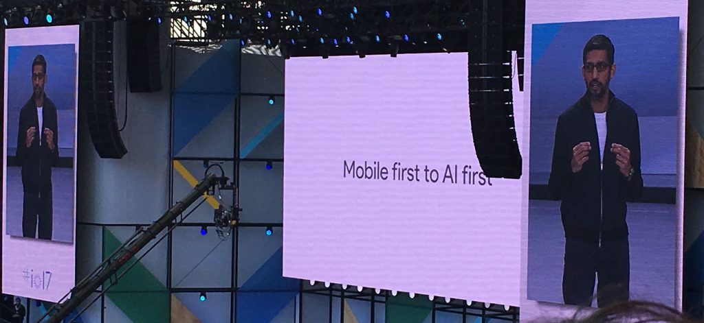 Mobile First to AI Firstの写真