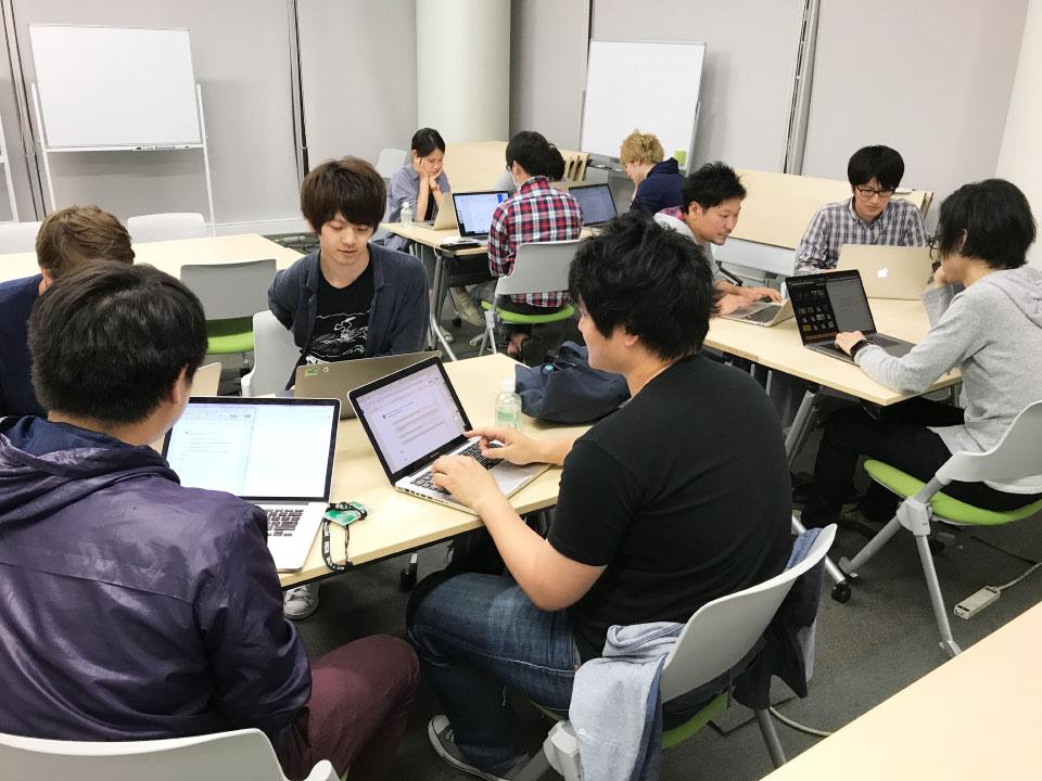 勉強会の様子(1)