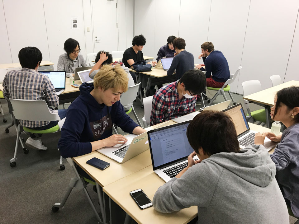 勉強会の様子(2)