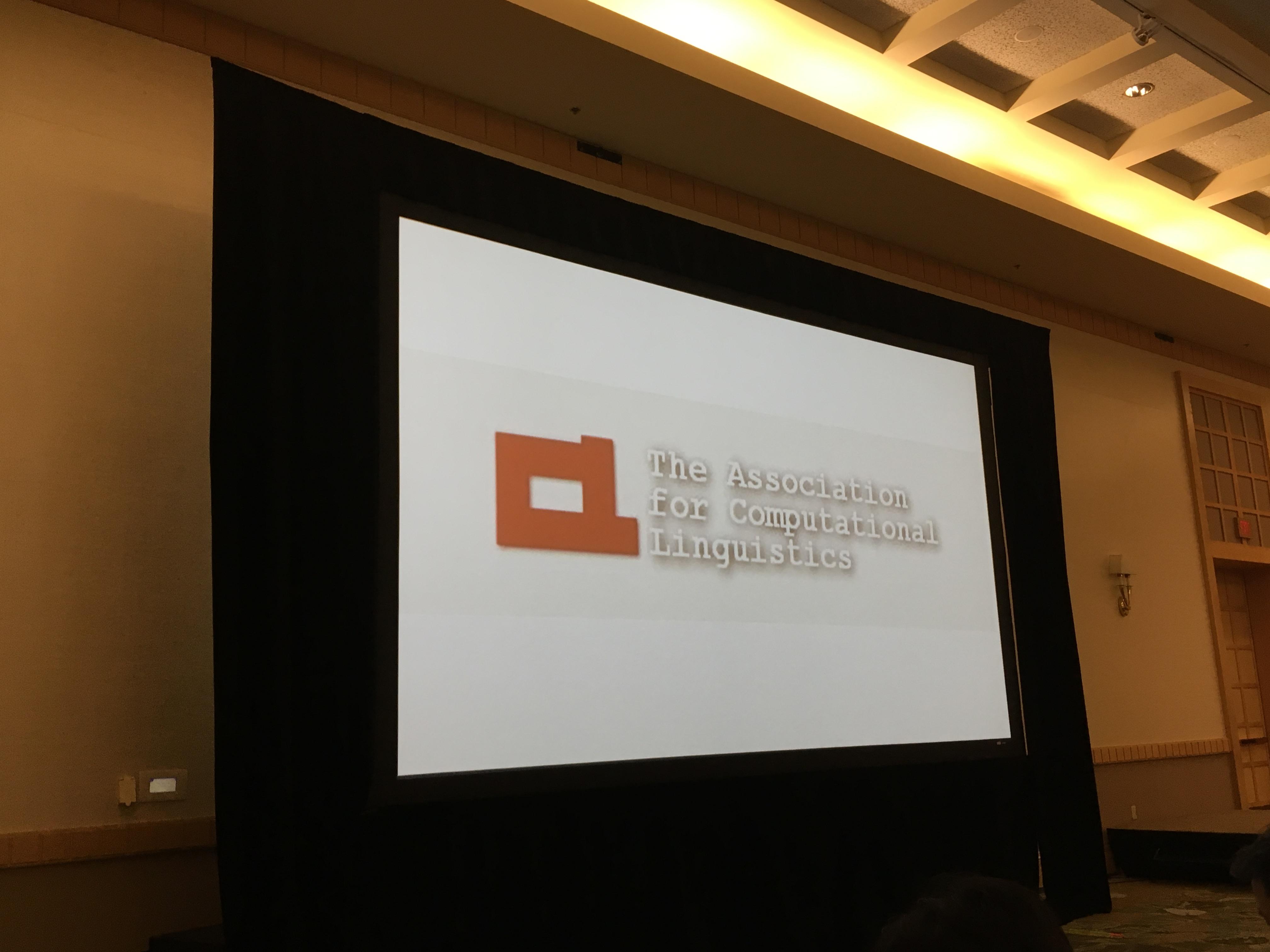 ACLロゴのスライド画像