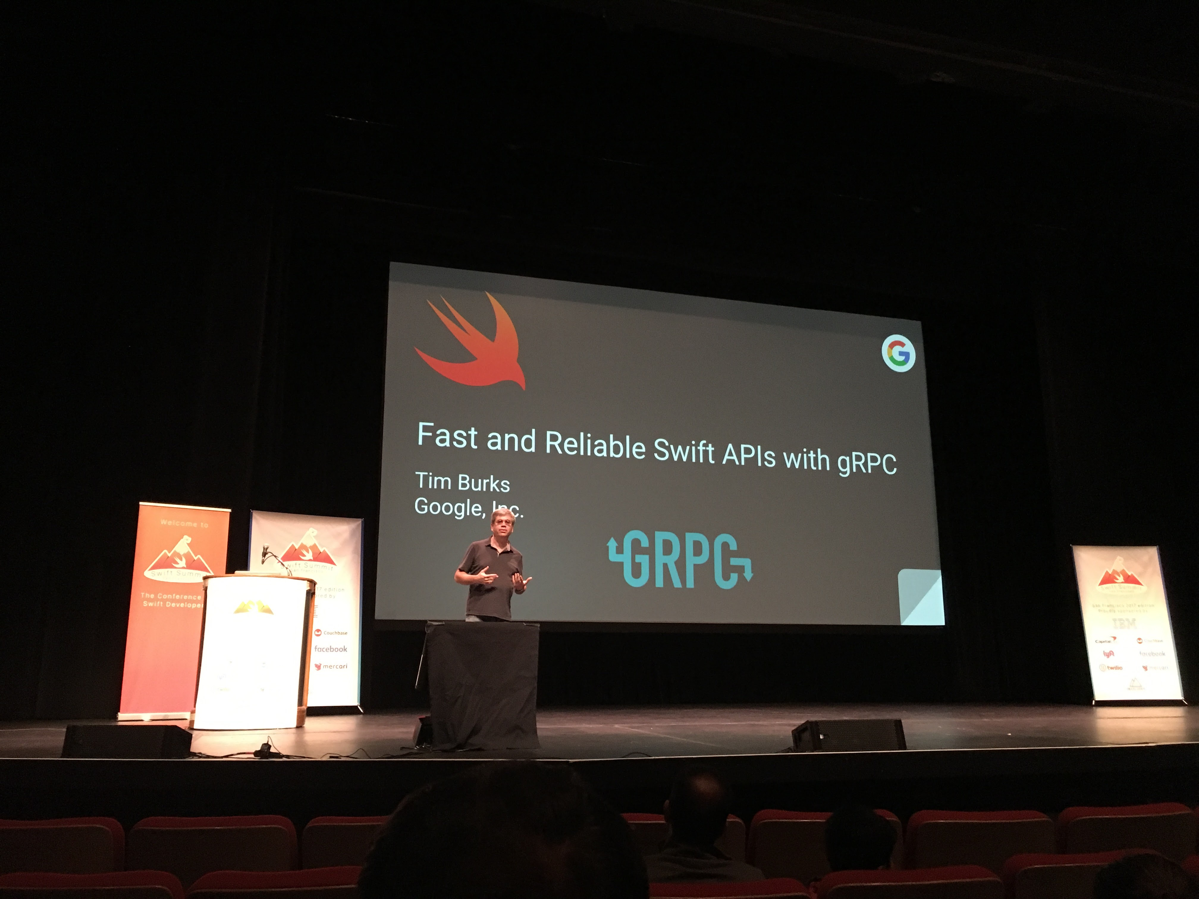Fast and Reliable Swift APIs with gRPC
