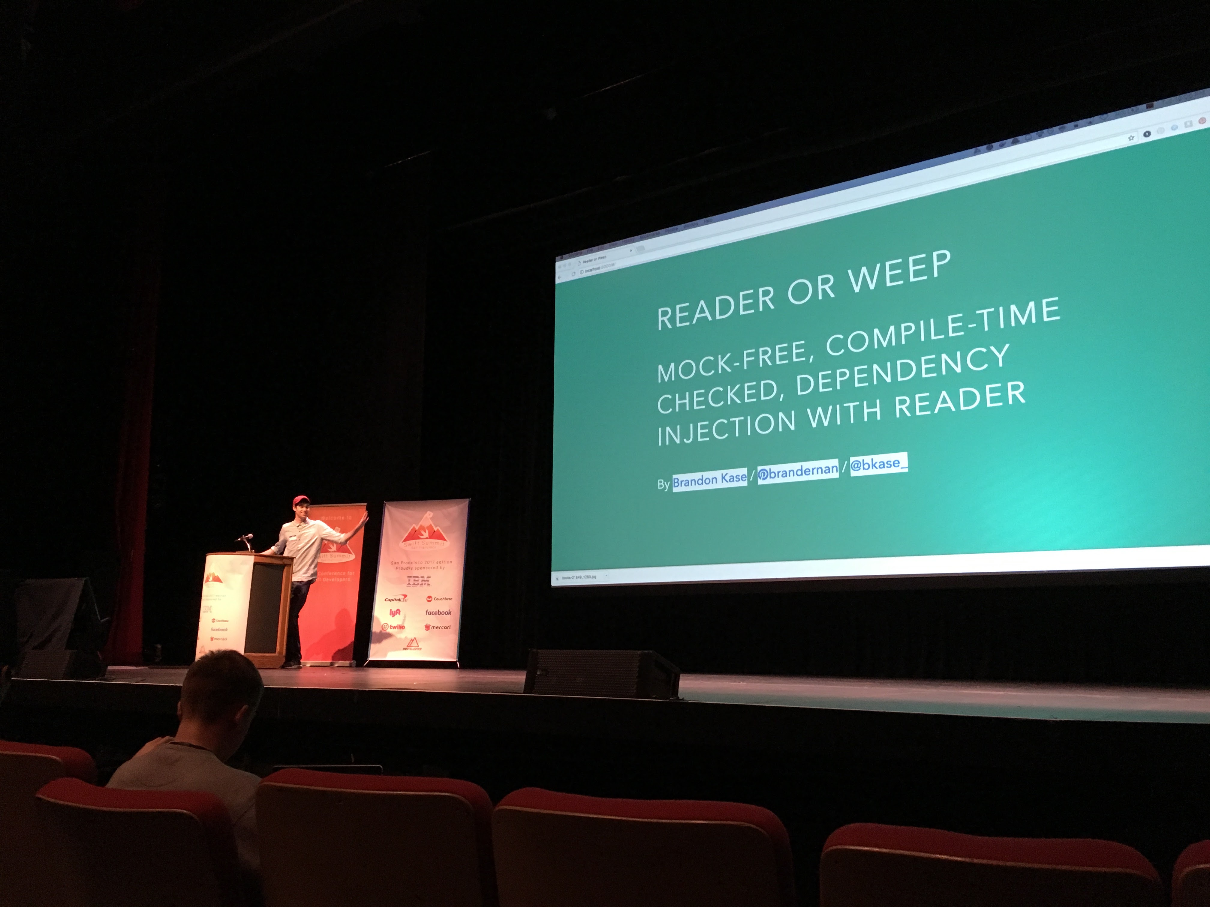 Reader or Weep: Mock-free, Compile-time checked, Dependency Injection with Reader