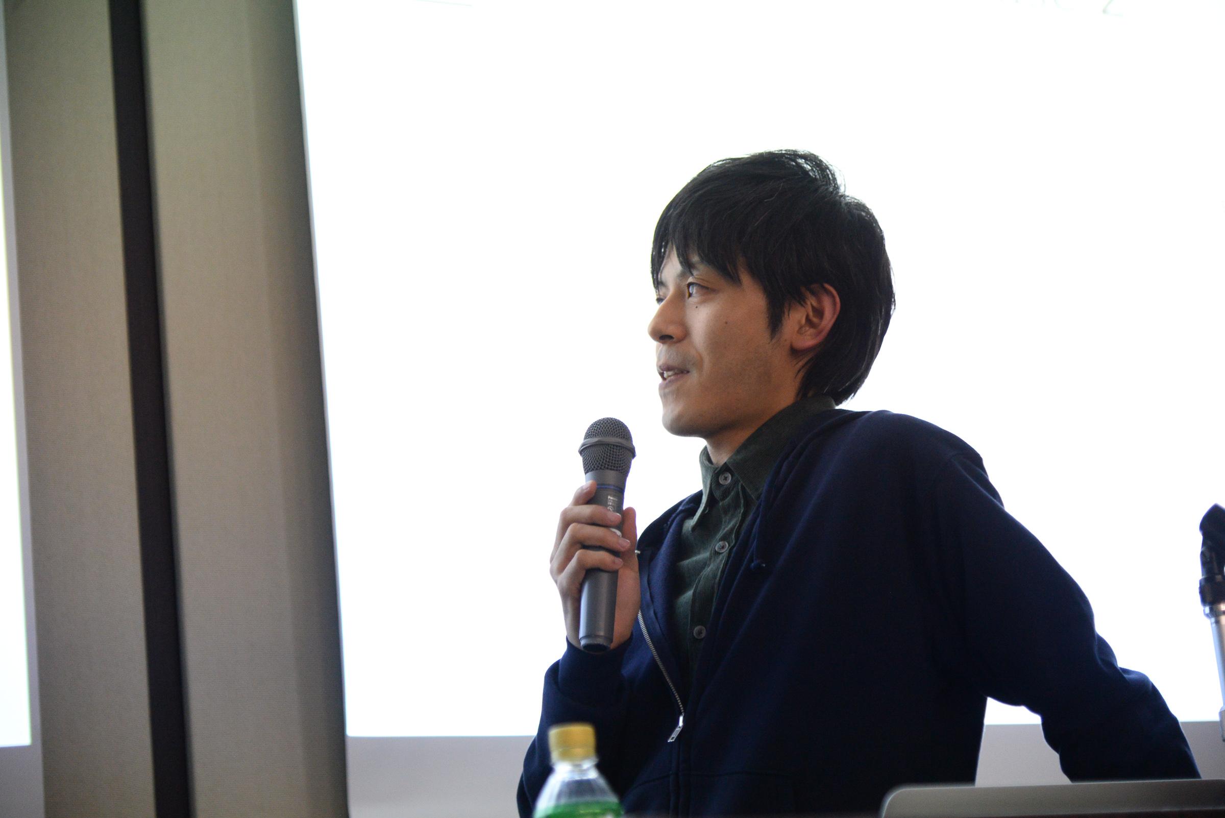 浜田真成氏