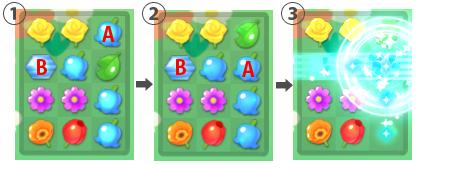 L字マッチ例1