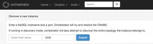 cluster登録
