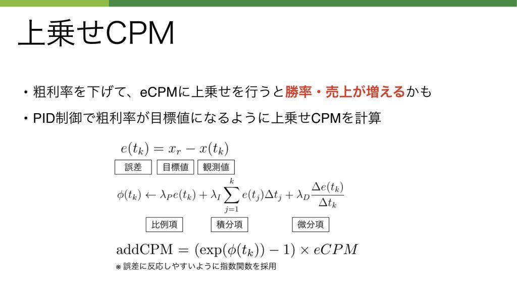 上乗せCPM