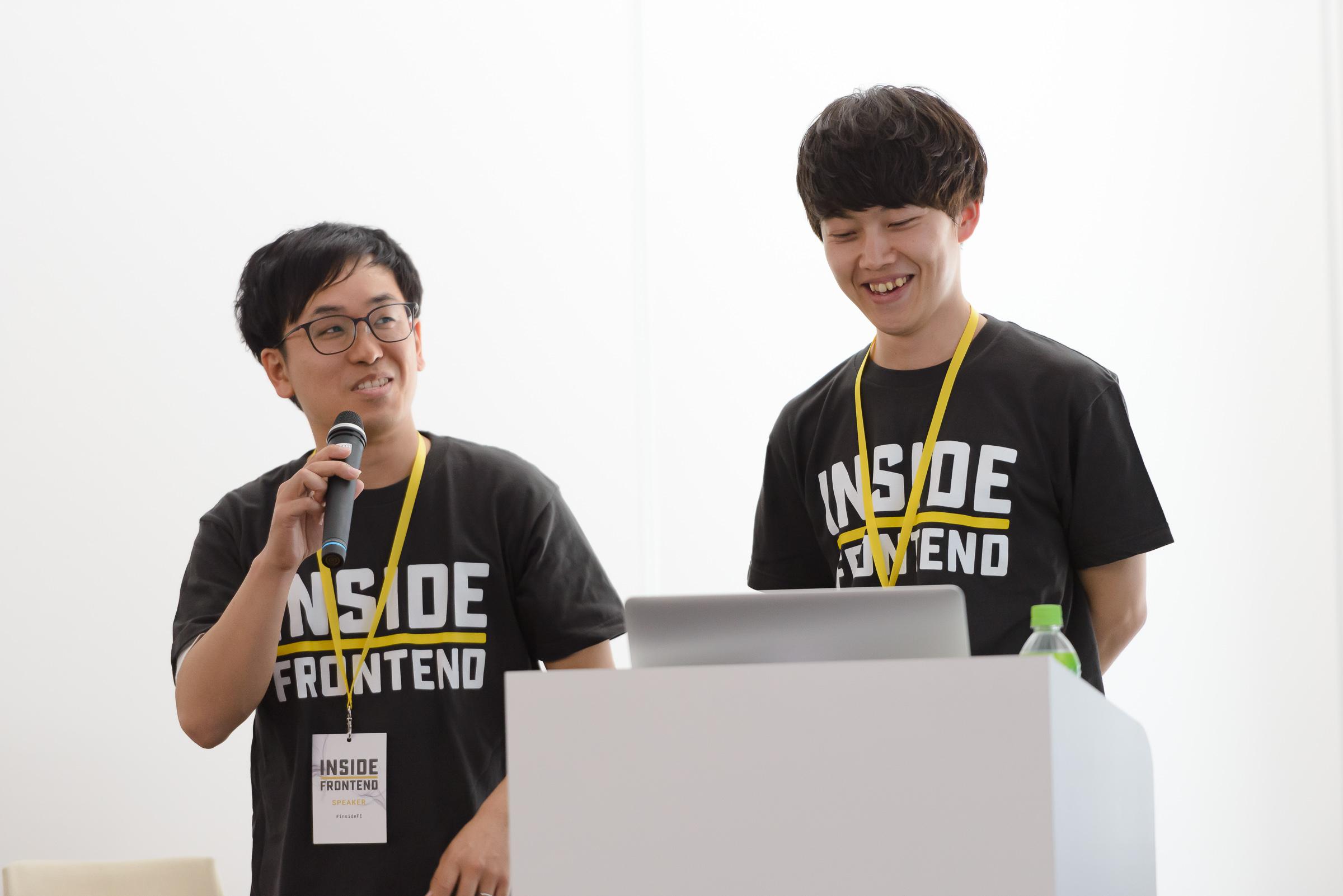 Koichi Sawada氏とHajime Sasanuma氏