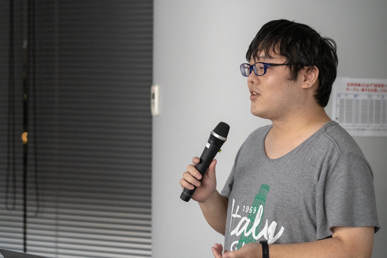 1人目の神楽坂さんが今後のJetpackでAndroid開発はこう変わるについて話されました