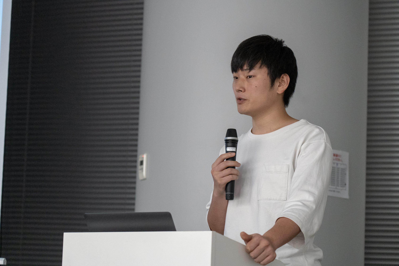 3人目の塚本さんがCATSのアクセシビリティに関する取り組みについて話されました