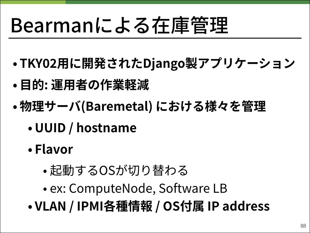 BearmanはTKY02向けに作られたDjango製アプリケーションです