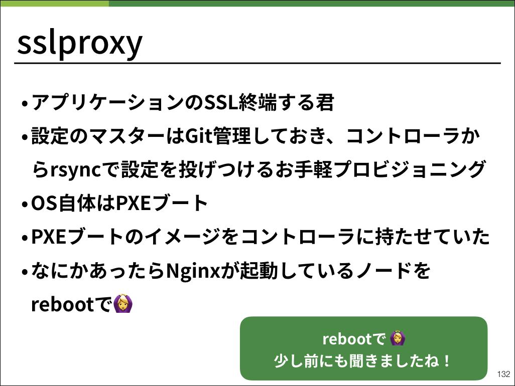 sslpreoxyは最高の開発でした